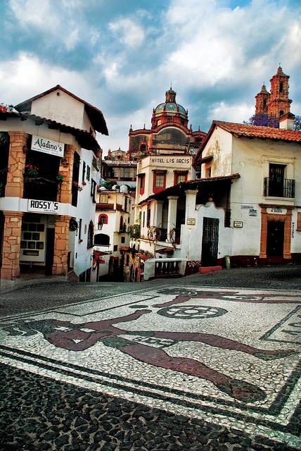 Taxco, Mexiko: historia om sylversmycken