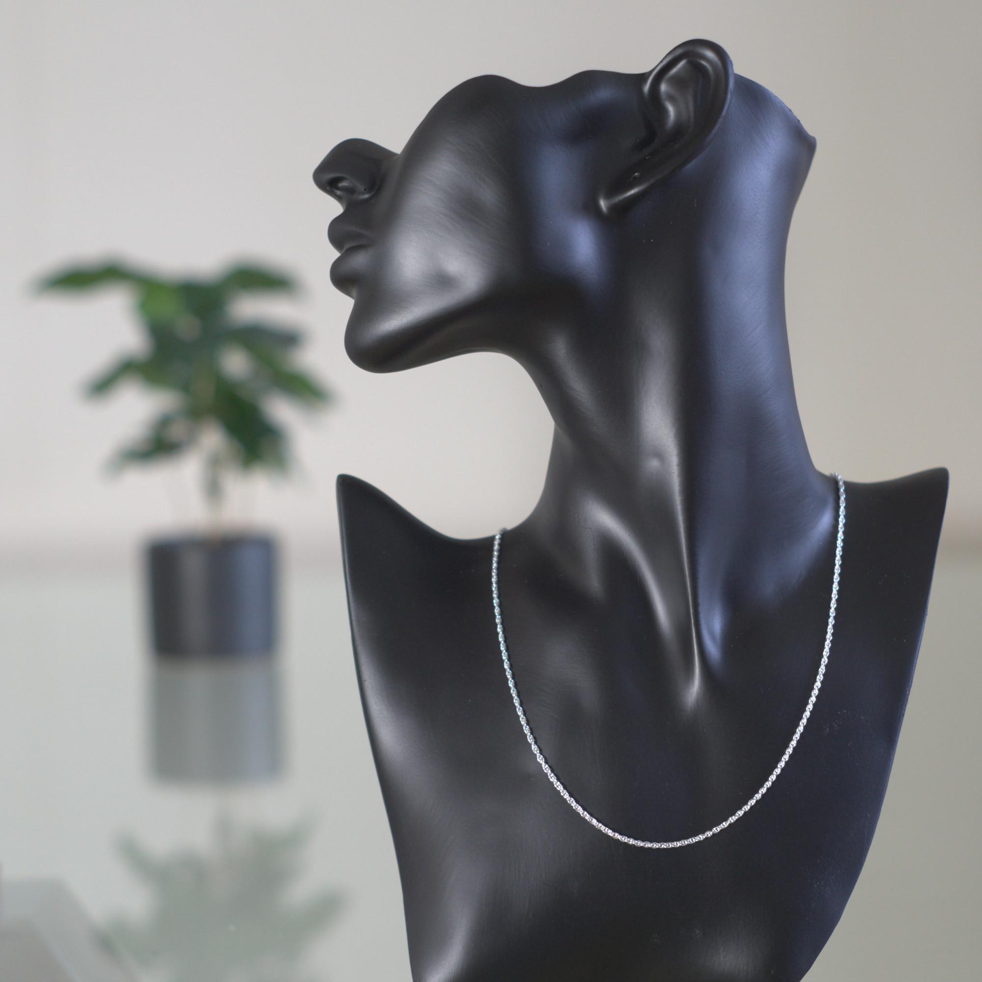 Linx - Halsband sterling silver, bubbla runda länkar