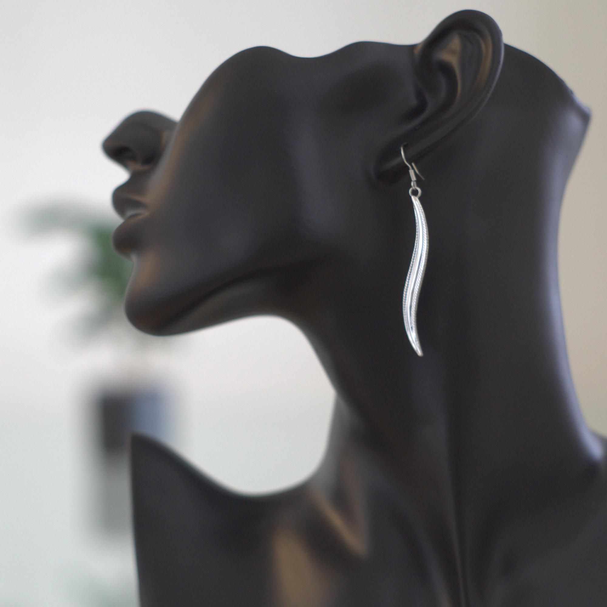 Diti - Örhängen fjäder
